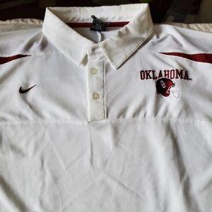 Oklahoma football 2XL polo Shirt
